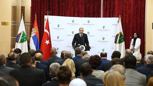 """أردوغان: عازمون على اجتثاث منظمة """"غولن"""" من البلقان"""