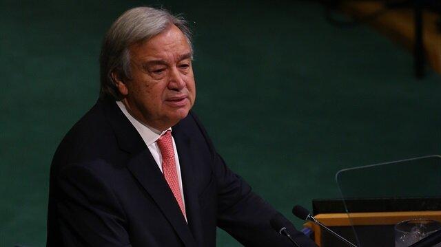 BM Genel Sekreteri Guterres, Hamas ile Fetih arasında varılan uzlaşı anlaşmasını kutladı.