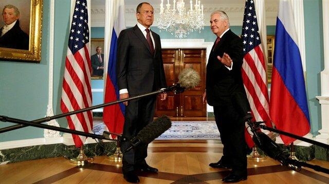 Rus ile ABD'li bakanlar görüşürken