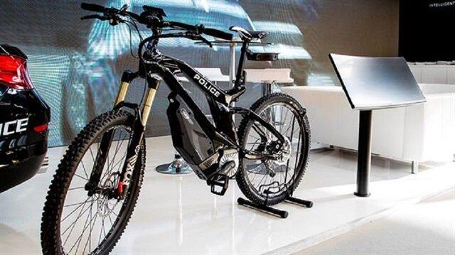 Yerli akıllı polis bisikleti Ekin Bike Patrol