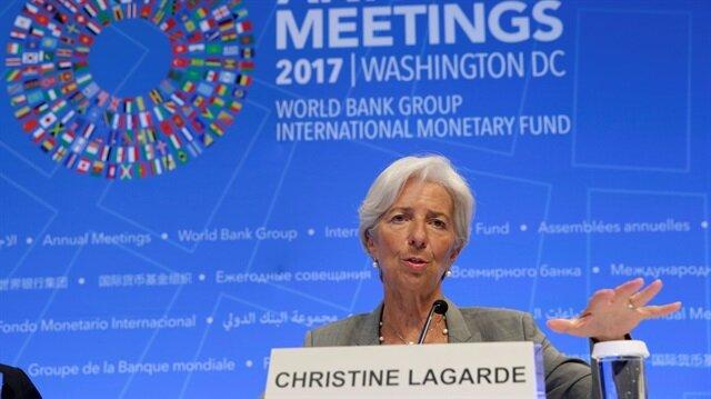 IMF Başkanı Christine Lagarde, sanal paralar konusunda uyarılarda bulundu.
