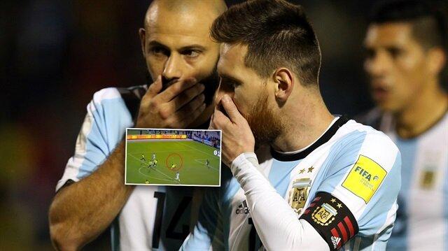 Messi'nin attığı gollerde Ekvador'un 23 numaralı oyuncusu Aimar'ın hareketleri dikkati çekti.