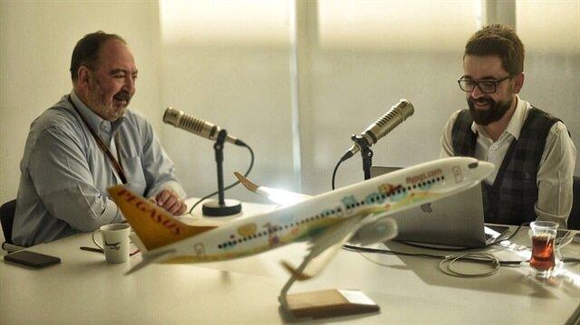 Adem Metan'ın konuğu, Pegasus Havayolları Genel Müdürü Mehmet Tevfik Nane oldu