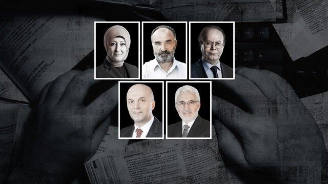 Özlem Albayrak, Hayrettin Karaman, Yusuf Kaplan, Ahmet Ulusoy, Hasan Öztürk