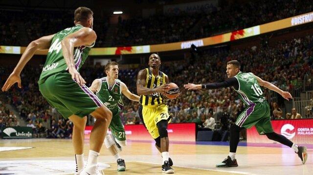 Unicaja Malaga - Fenerbahçe Doğuş maçın'da James Nunnally 5 sayı ile oynadı.