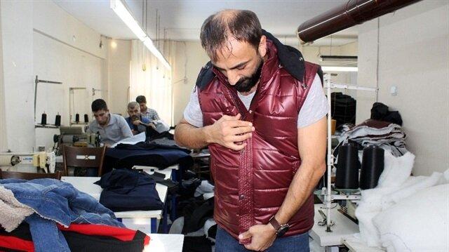 Genç girişimci 55 dereceye kadar ulaşan ısıtmalı mont, yelek ve ceket üretti.
