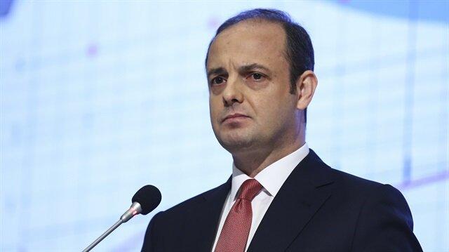 TCMB Başkanı Murat Çetinkaya JP Morgan Yatırımcı Toplantısı'nda sunum yaptı.