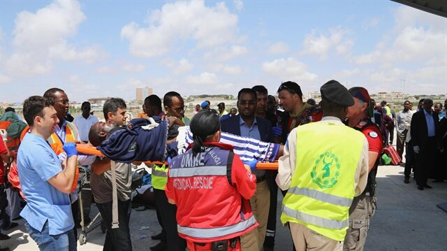 40 Somalis injured in truck bombing airlifted to Turkey