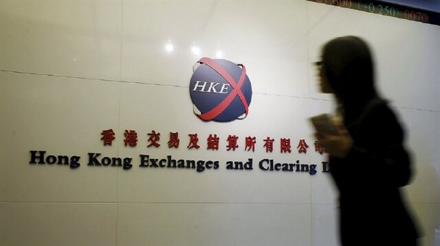 Hong Kong shares track Asia markets to end near 10-year peak