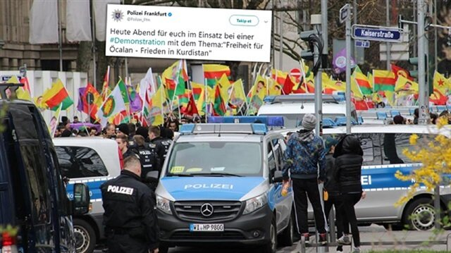 German police support PKK in scandalous tweet