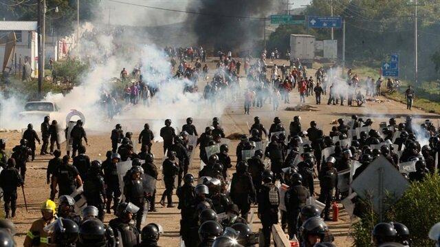 Meksika'da silahlı çatışma 11 ölü