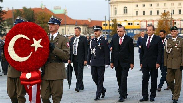 أردوغان يغادر بولندا عائدًا إلى تركيا