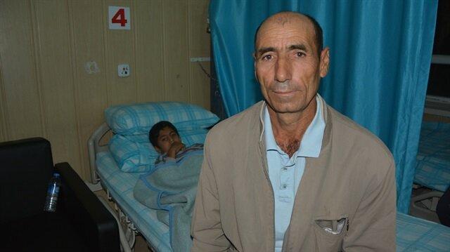 إصابة تركيين برصاص طائش من سوريا