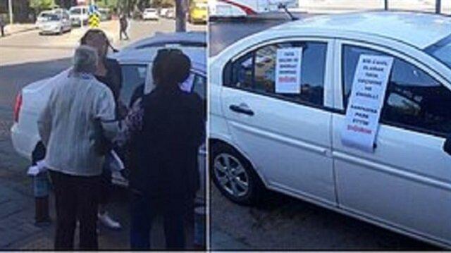 إحذر أن تكون أنت في هذا الموقف...مواطنون أتراك يلقنون سائقة سيارة درساً