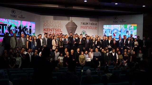 7 İklim 7 Bölge Ulusal Mimari Kentsel Tasarım Fikir Yarışmasına büyük ilgi gösterildi.