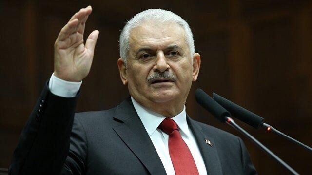 يلدريم يلتقي النائب الأول للرئيس الايراني في أنقرة