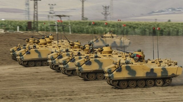 'Turkey Shield' to purge region of terrorist organizations