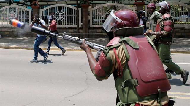 Kenyan police say four people killed during opposition demonstrations in past two weeks