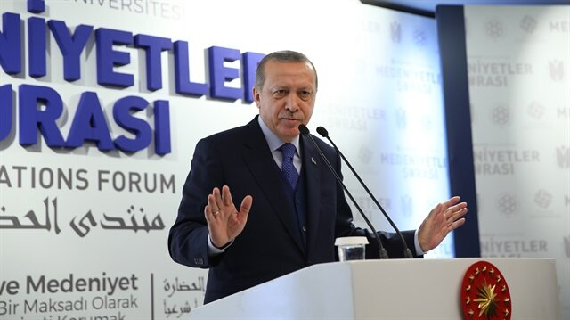 Erdoğan says US cannot be 'civilized country'