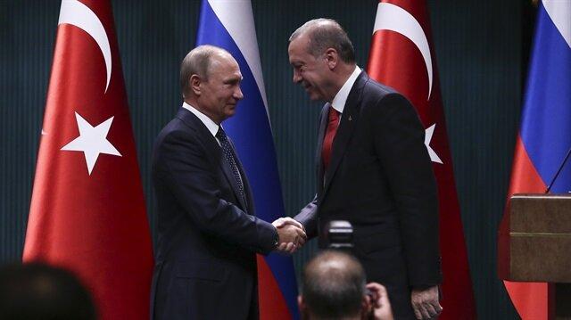 Erdoğan, Putin discuss Syria
