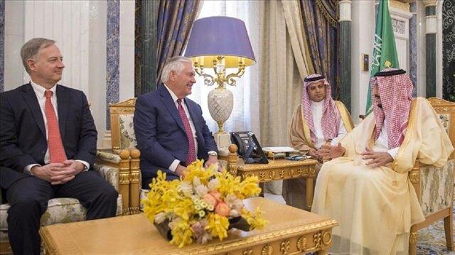 US state secretary meets Saudi king in Riyadh