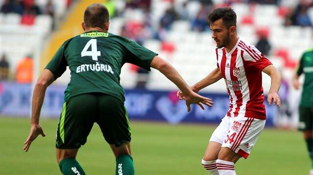 Sivasspor-Bursaspor: 0-0