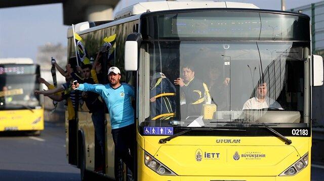Otobüsün camlarını kıranlar stada alınmadı