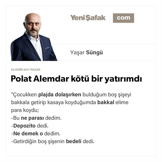 Polat Alemdar kötü bir yatırımdı
