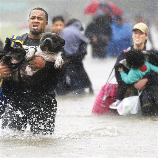 Kasırga mağdurlarına İsrail şartı