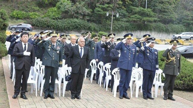 'South Korea remembers sacrifice of Turkish forces'