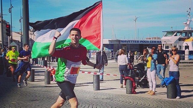 Filistinli koşucu İstanbul Maratonu'na katılacak