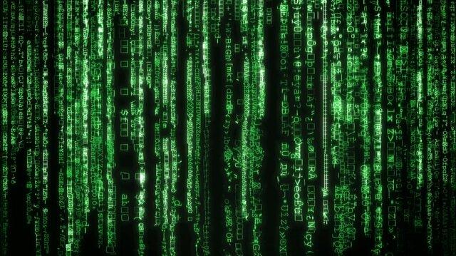Matrix filminden hatırladığımız yeşil bilgisayar kodlarının sırrı tasarımcısı tarafından açıklandı.