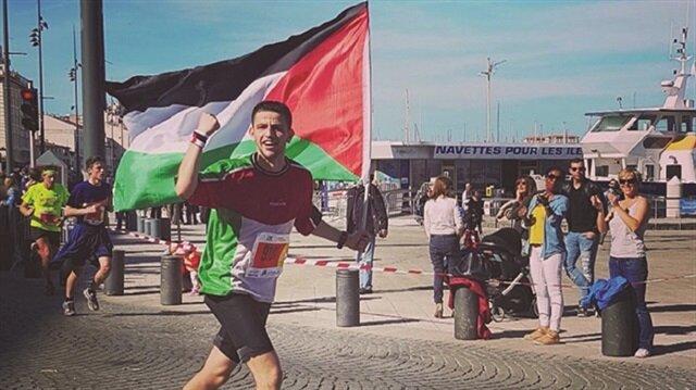 Filistinli sporcu İstanbul'da koşacak