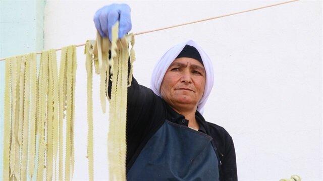 Iğdır'ın el yapımı erişteleri İtalyan mutfağında büyük ilgi görüyor