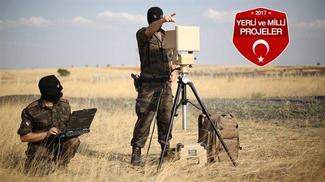 Güvenli bölgenin sınırlarını yerli radar çizecek