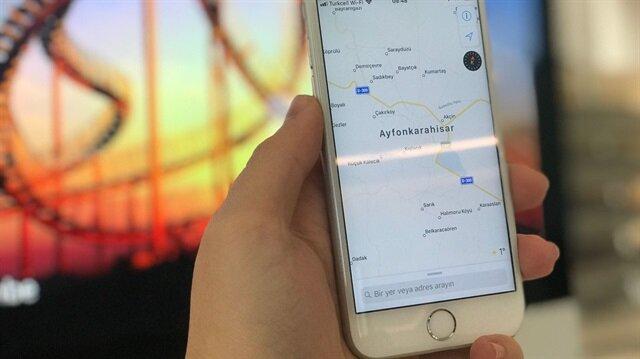Apple, haritalar uygulamasında Türkiye'nin şehirlerinden birinin ismini yanlış olduğu anlaşıldı.