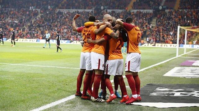Galatasaray-Gençlerbirliği: 5-1