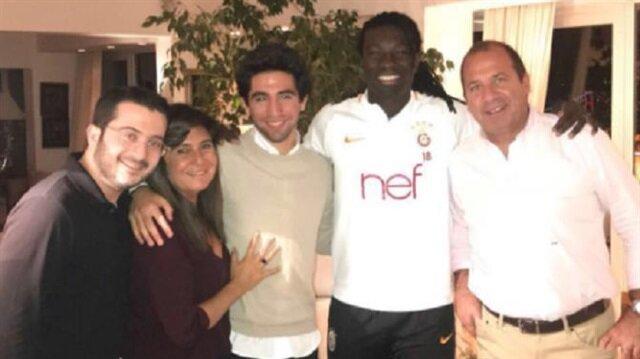 Gomis Fenerbahçeli aileye konuk oldu