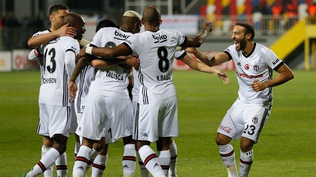 Beşiktaş, Süper Lig'de üst üste 2. galibiyetini elde etti.