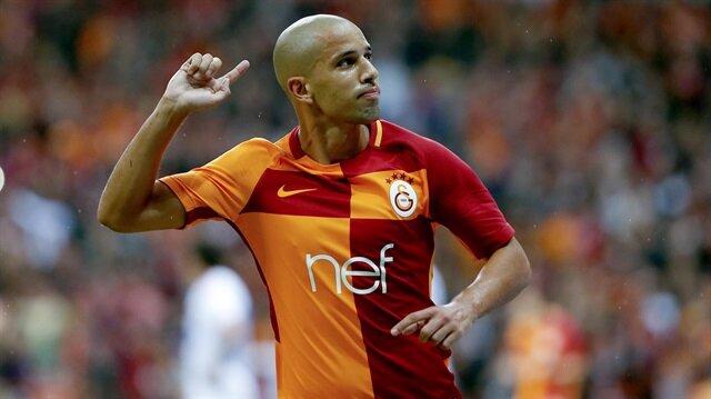 Fegohuli Galatasaray formasıyla  çıktığı ilk maçta golle tanışmıştı.