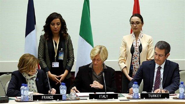 Türkiye, Fransa ve İtalya arasında savunma iş birliği niyet beyanı imzalandı.