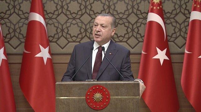 Erdoğan'dan gazilere yapılan saldırıya çok sert tepki!