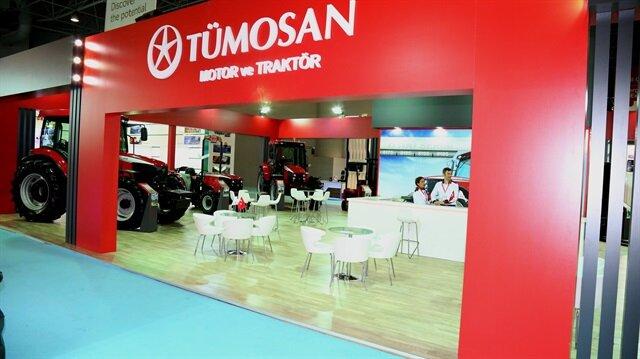 TÜMOSAN traktörlerini çiftçilerle buluşturdu