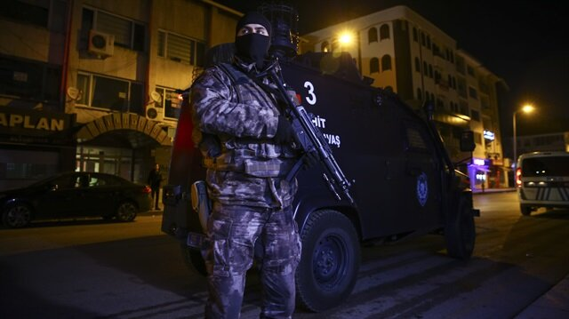 Over 110 detained in vast anti-IS raids in Ankara