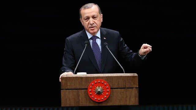 Cumhurbaşkanı Erdoğan 13 ilin vekilleri ile görüşecek