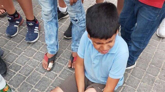 8 yaşındaki Filistinli Yamin Mustafa Suf