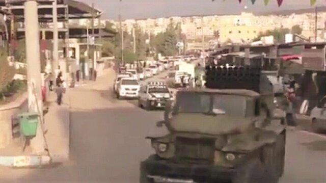 ABD'nin Suriye ve Irak'taki müttefiki PKK, Türkiye'nin operasyona hazırlandığı Afrin'de 'savaş' hazırlıklarına hız verdi.
