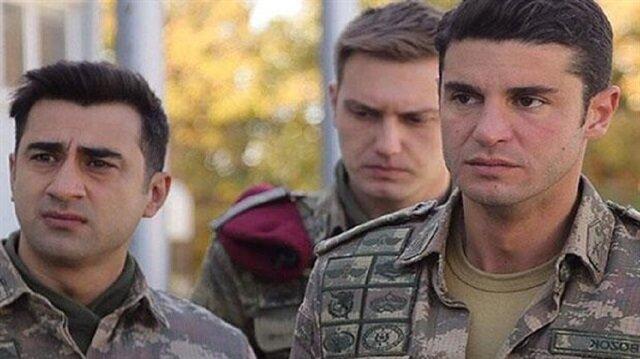Bahadır Vatanoğlu (solda), Eskişehir'de devam eden Savaşçı dizisi için heyecanını anlattı.