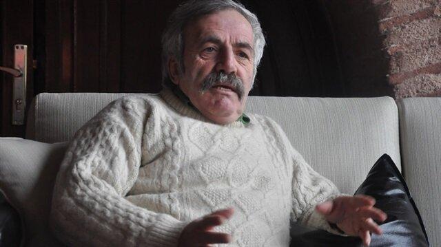 Sinema ve tiyatro oyuncusu Ulvi Alacakaptan.