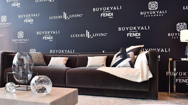 Fendi Casa Luxury Living Group'un en önemli markası.